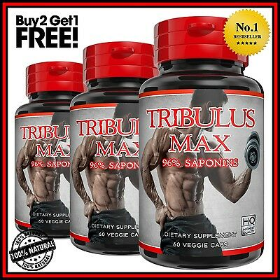 Tribulus Terrestris Extract 96% Saponins Testosterone Booster Big Muscle Pills