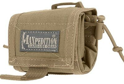 Maxpedition Rollypoly Folding Dump Pouch Khaki 0208K