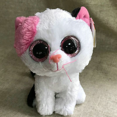 ty beanies boos black White Cat Muffins stuffed animal toy