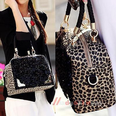 Fashion Women Satchel Handbag Shoulder Tote Messenger Crossbody Bag Zipper Purse