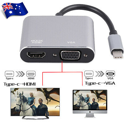 USB-C Type C USB 3.1 Male to HDMI 4K HDTV 10Gbps Adapter Cable for Laptop Mac