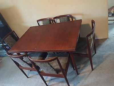 Parker Dining Table with 6 matching chairs