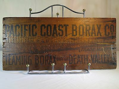 RARE Pacific Coast Borax Co -Teaming Out Of Death Valley Crate End