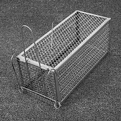 Mouse Trap Cage Rodent Animal Mice Rat Hamster Squirrel Control Catch Metal