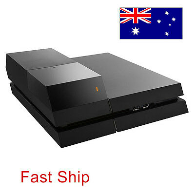 """3.5"""" Data Bank External Hard Drive Storage Accessories Black For PS4 Console AU"""