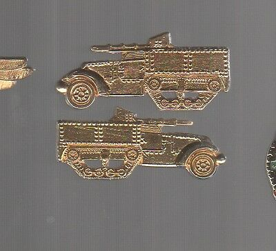 Armed vehicle collar studs