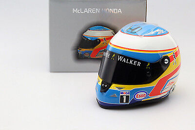 Fernando Alonso McLaren MP4-30 Formel 1 2015 Helm 1:2 Schuberth
