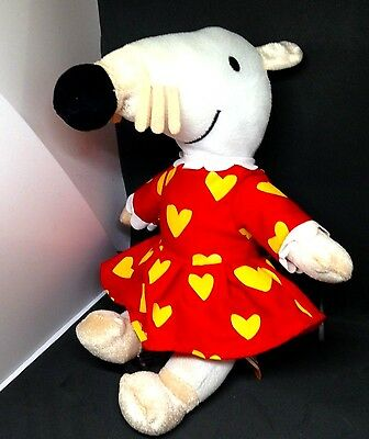 "MAISY the Queen Princess Mouse 10"" Plush Doll  Yottoy ,cute !"