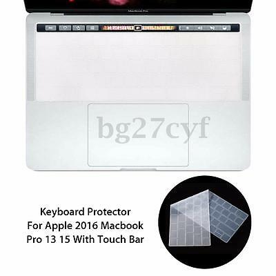 Keyboard Cover Film Protector For Apple 2016 Macbook Pro 13/15 With Touch Bar AU