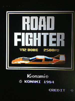 Road Fighter By Konami Arcade Pcb Jamma Bootleg
