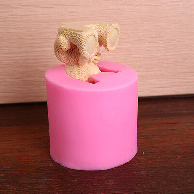 3D teddy Bear Silicone Mould for soaps candles chocolates Cake Mold Tool