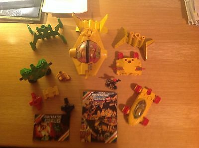 Britains Space series - job lot of toys and two small brochures