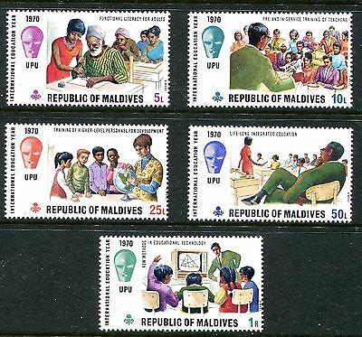 Maldive Islands 1970 International Education Year MNH