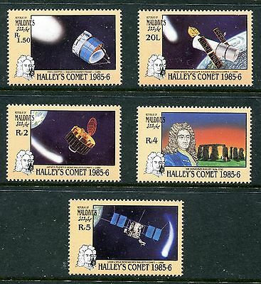 Maldive Islands 1986 Halley's Comet MNH