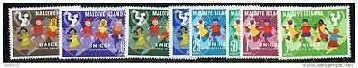 Maldives 1962 UNICEF MH