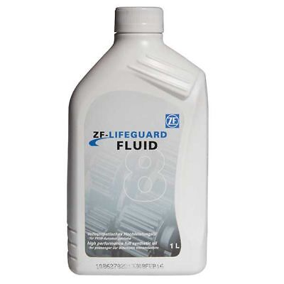 1 Litre 1L ZF LifeGuard 8 Transmission Oil Gearbox Fluid Lubricant
