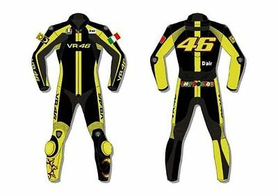Vr|46 Rossi 2016 Motorcycle Motorbike Racing Leather Suit 1&2 Piece