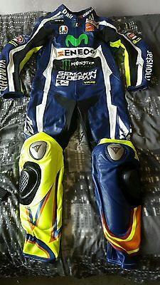 New Valentino Rossi 2016 Motorcycle Motorbike Racing Leather Suit 1&2 Piece