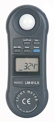 Reed Instruments REED Instruments LM-81LX Compact Light Meter, 20,000 Lux /