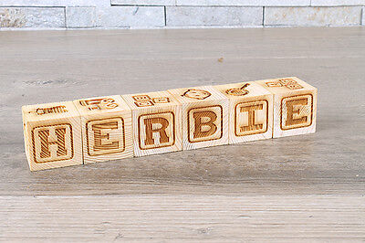 Personalised Baby Name building Blocks: New Born Baby Gift, christening gift