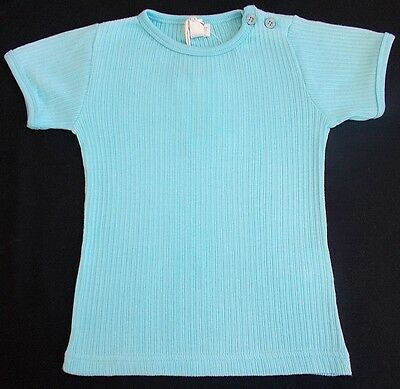 Basic By Me Too baby girl t shirt aqua bnwts 12-18 month
