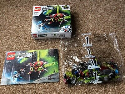Lego Galaxy Squad 70700 Space Swarmer Complete Set - Figures Instruction Box