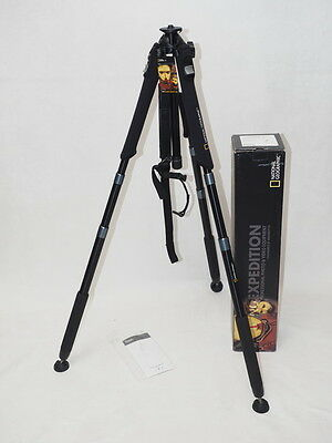 Pied photo video automatique Manfrotto 458B série National Geographic NGET1 neuf