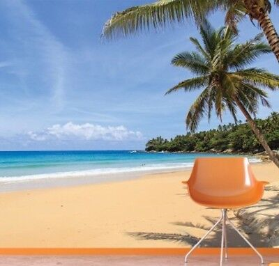 Tropical Paradise, Thailand Beach Wall Mural 3D Photo Wallpaper W360 X H240cm