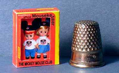 Dollhouse Miniature 1:12  Mickey Mouse Club Mouseketeers Doll Box  girl toy