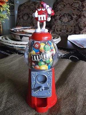M&M's Valentines Small Candy Machine with Red Guy