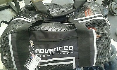 Advanced fight gear mesh multi purpose sports gym bag duffle luggage rrp $69.95