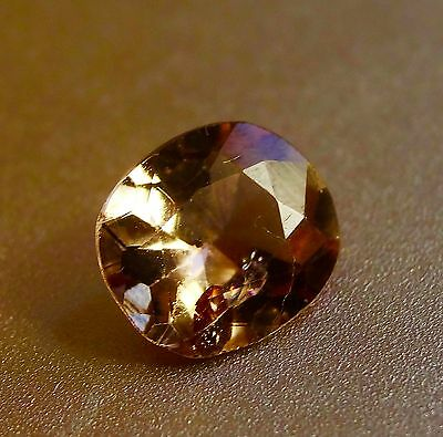 1.16cts Beautiful Champagne color change natural Axinite loose gemstone