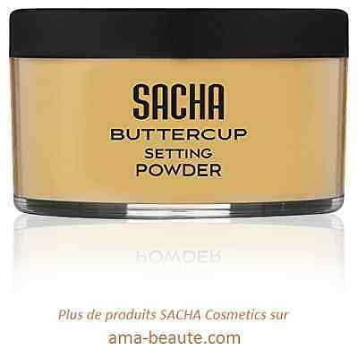 Buttercup Powder Sacha Cosmetics