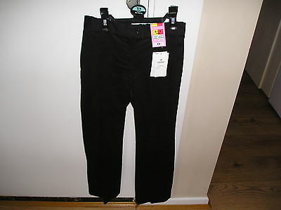 Marks & Spencer Black Trousers With Adjustable Waist Aged 8-9 Years