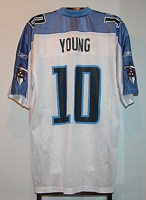 Maillot Trikot Jersey Foot Américain Nfl Us Vince Young Titans Tennessee XL