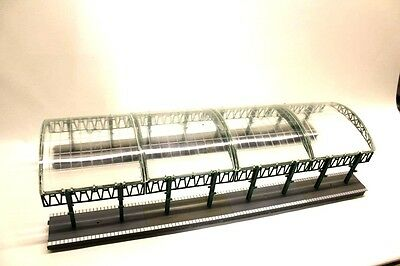 Hornby Station Platform w/ Glass Canopies OO Gauge Model Building Trackside