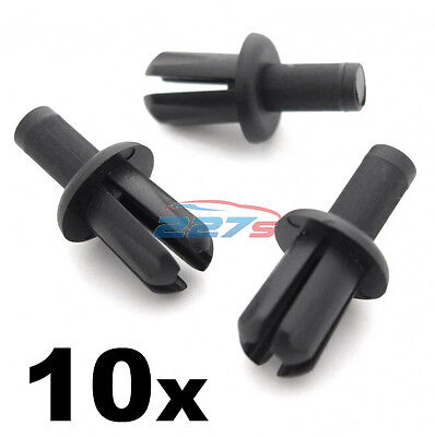 10x Land Rover Discovery II A-Pillar Windscreen Trim Clips, 8mm Rivets- 79086L