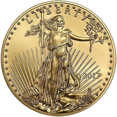 2017 1oz Gold American Eagle BU