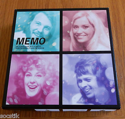 ABBA Memo Memory Card Game