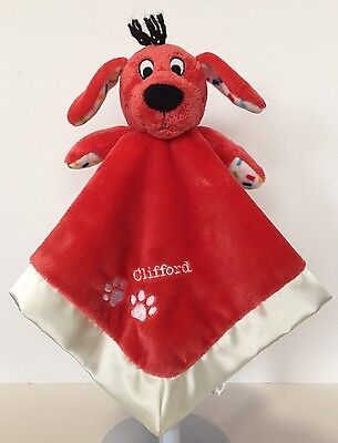 Clifford the Big Red Dog Lovey Soother Scholastic Security Blanket