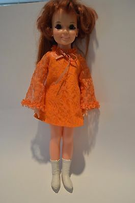 Vintage Very Rare 1968 IDEAL hair growing Crissy doll in original clothes EUC