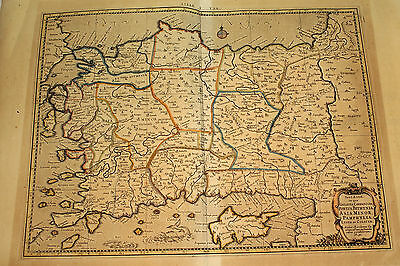 Antique Map - Map of Turkey - 1730 - Edition of Ptolemy's Geography Maps