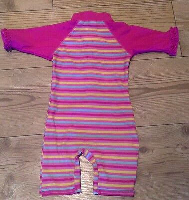 Baby girl swimsuits /costume pink yellow blue striped Mini mode 12-18 months