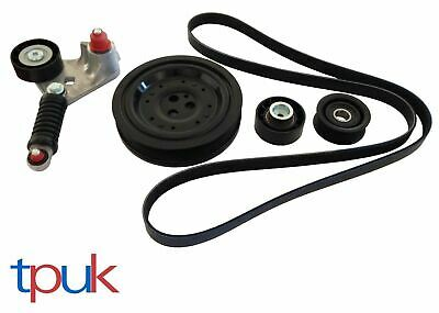 FORD TRANSIT MK6 FAN BELT TENSIONER KIT CRANKSHAFT PULLEY 2.0 2.2 TDDi TDCi