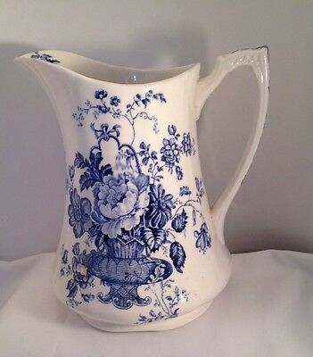 "Vintage Alfred Meakin ""Charlotte"" Ceramic Pitcher Made in Staffordshire England"
