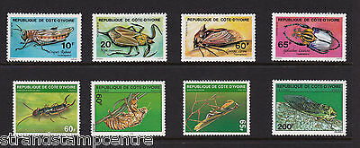 Ivory Coast - Insects - U/M - 1978 (1st Series) + 1980 (3rd Series) 'Bundle'