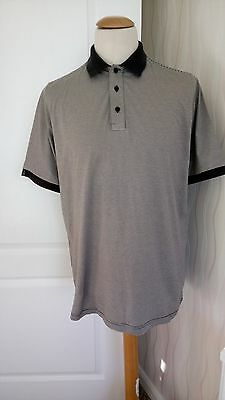 """Mens Glen Muir Golfing Polo Shirt Size (Large Fittiing) 44/46"""" Great Condition"""