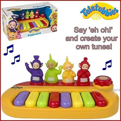 Teletubbies Keyboard Piano Toy Musical Instrument Children Toddler