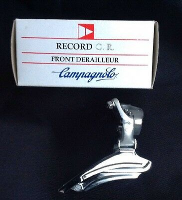 Campagnolo Record Triple 7/8 Speed Front Derailleur Mech New. Very Rare