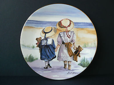 "Royal Worcester One Glorious Summer Collection - ""Path to the Sea""   No. 173"